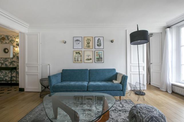 furnished rental Paris Living decoration