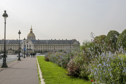Invalides green spaces