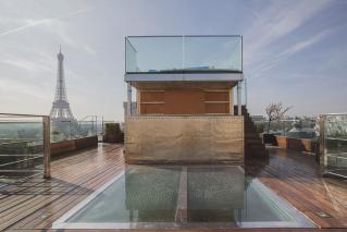 Solarium Jacuzzi Champs Elysées Paris