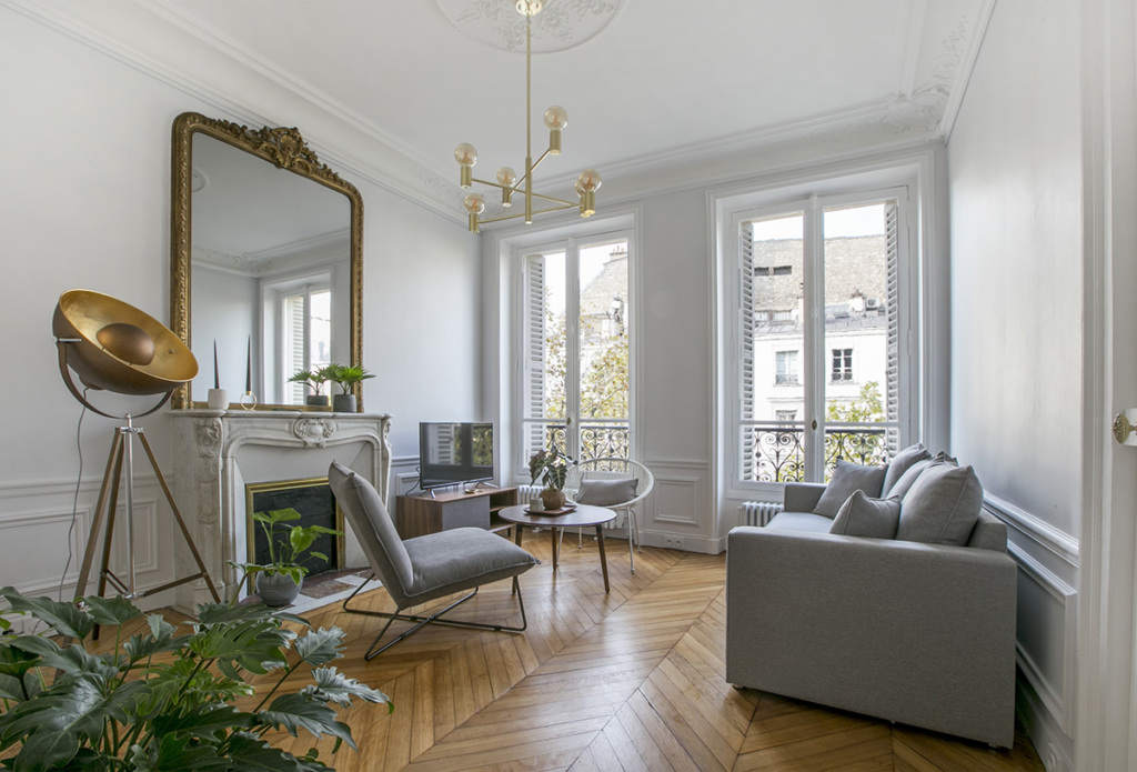 A chic, modern, and light-filled interior - Paris apartments