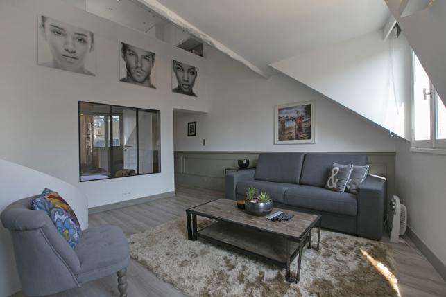 2 bedrooms apartment with terrace Le Marais