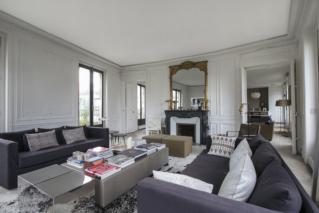 furnished rental Bd de Courcelles