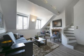 living room apartment for rent Paris