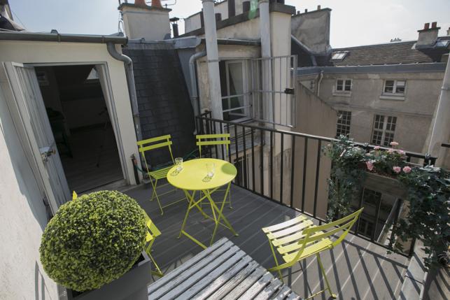 rooftop terrace apartment Paris