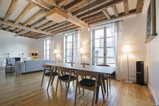 furnished apartment Le Marais style Paris