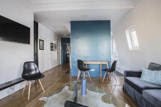 two bedrooms living room Paris Rental Volontaires
