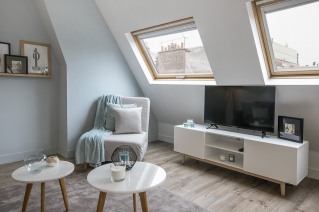 renovated and furnished apartment Paris