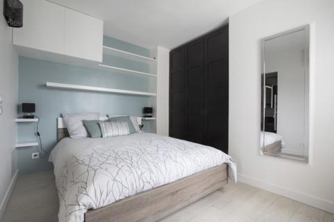 bedroom wardrobes rent an apartment in Paris