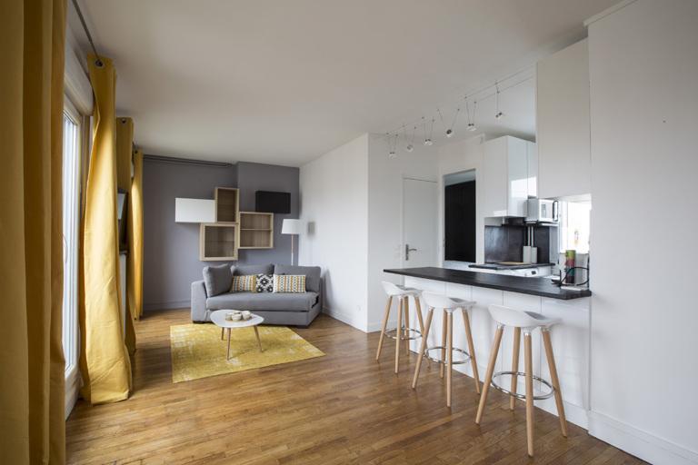 rénovation studio Paris