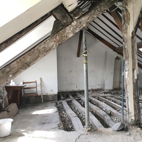 renovation work furnished apartment Paris