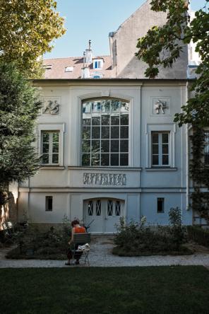 Paris Eugène Delacroix museum garden