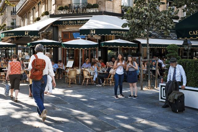 Les Deux Magots - Neighbourhood of Saint-Germain-des-Prés