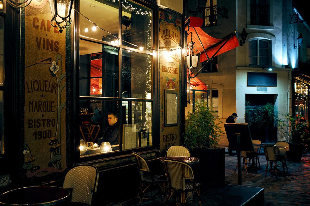 Paris by night - Saint-Germain-des-Prés