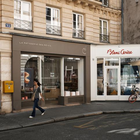 Pâtisserie des Rêves à Paris, quartier Saint-Germain-des-Prés