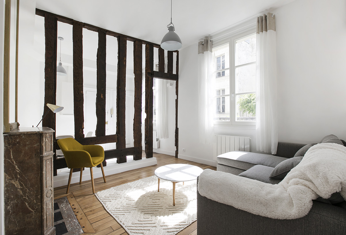 Paris life Mag Exposed Beams: 10 Inspiring Parisian Apartments