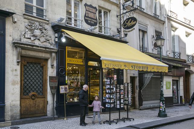 Stohrer pâtisserie Rue Montorgueil Paris