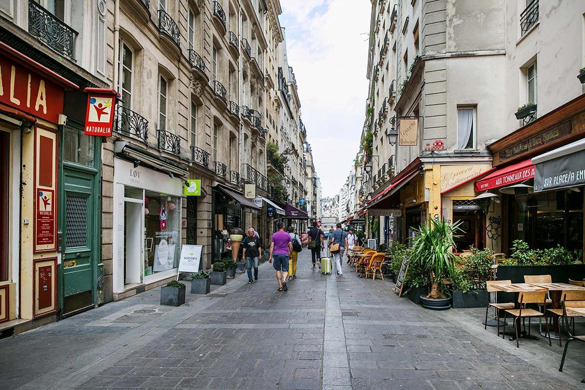 Vie de quartier Montorgueil - Location meublée Paris