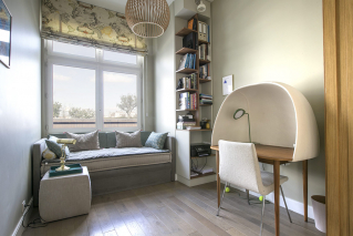 Two bedrooms and an office - Furnished rental in Paris