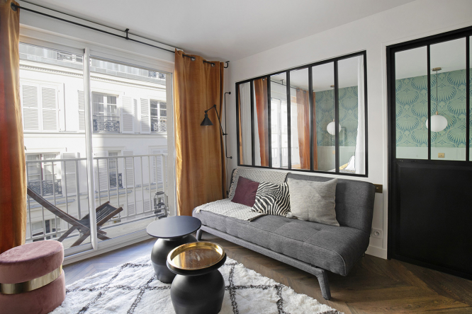 One-bedroom apartment ready to rent
