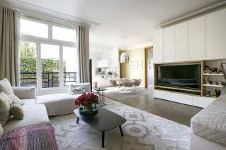 Living with terrace - Furnished rental in Paris