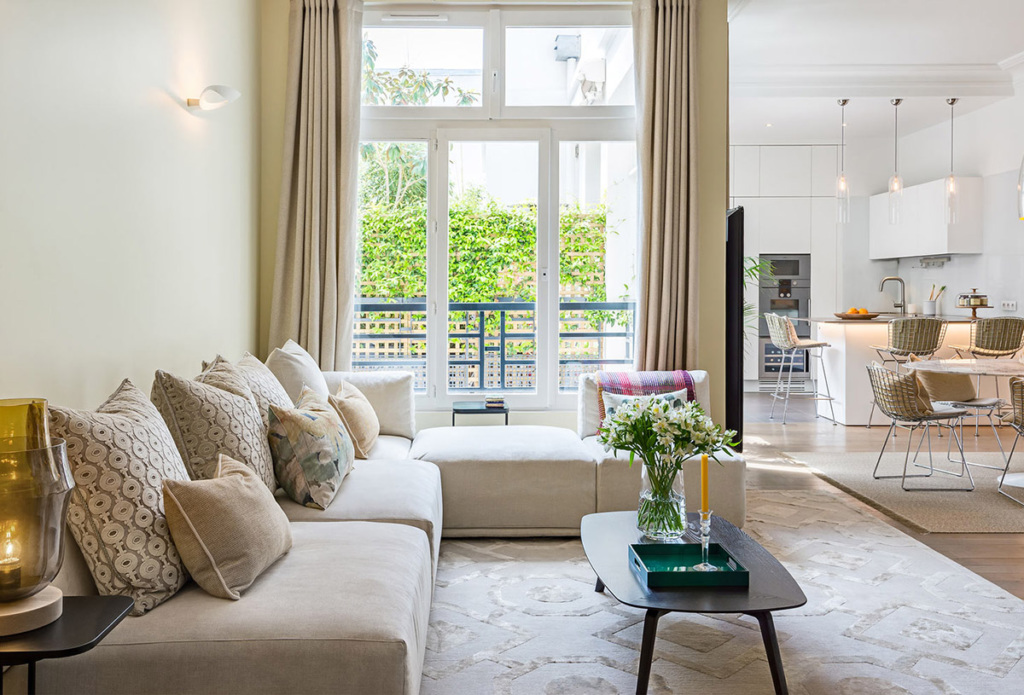 Paris life Mag A family apartment that oozes calm