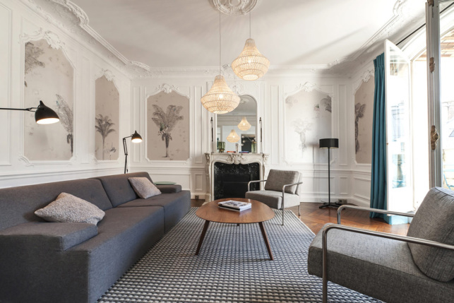 Appartement haussmannien Paris à louer
