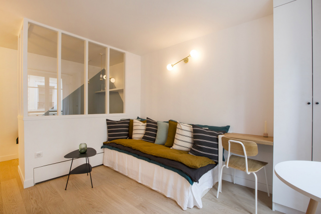 Studio prepared for rental - Paris