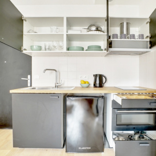 Long-term Paris apartment furnished, ready to rent