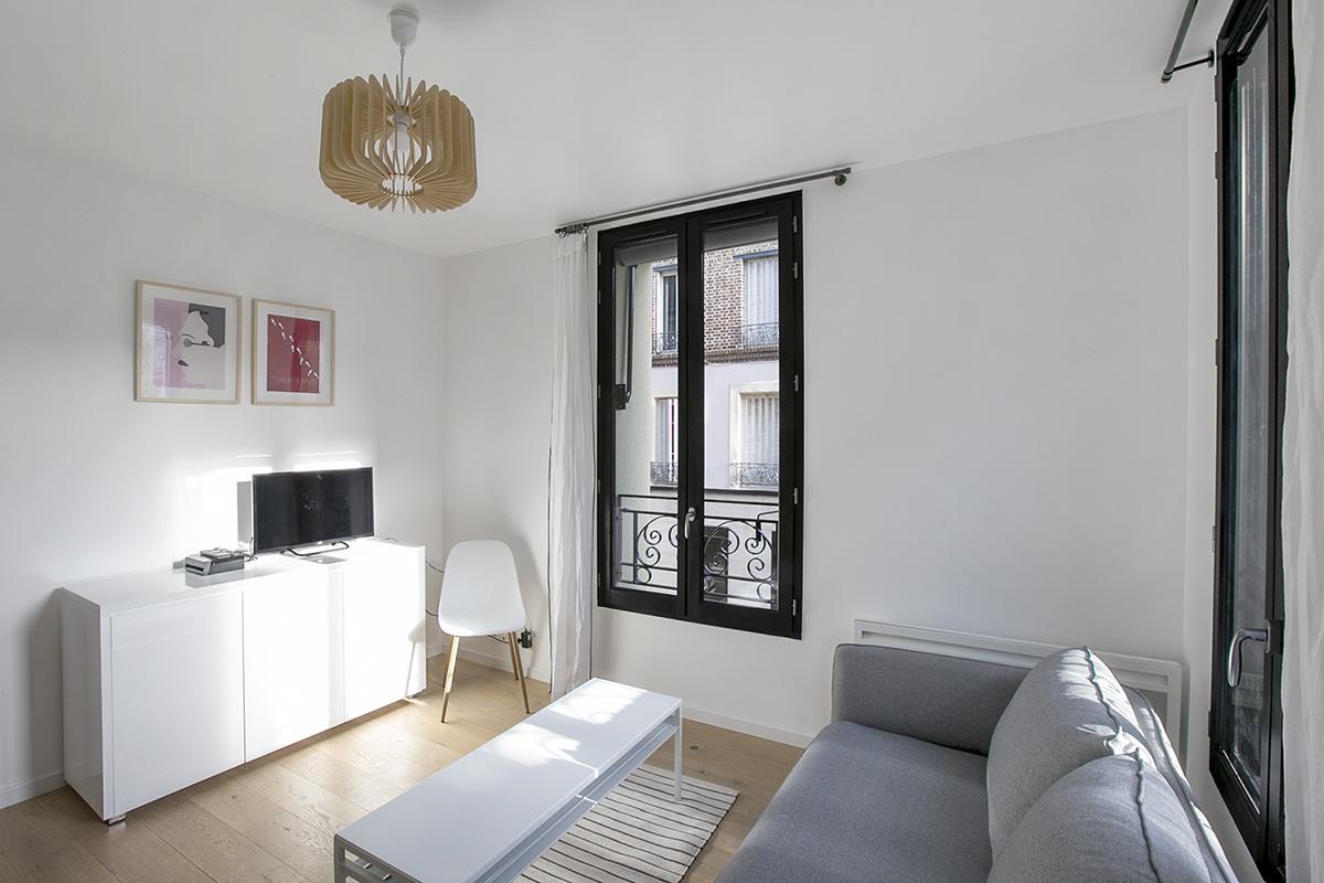 Appartement parisien équipé intervention spécialiste