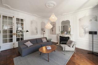 Haussmannian apartment - Louvre, Paris