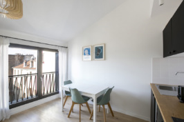 Furnished apartment for rent in Boulogne-Billancourt