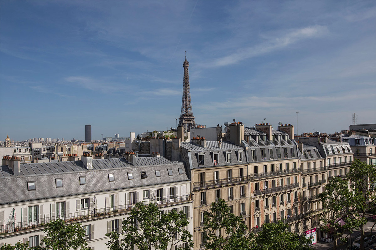 Furnished rentals in Paris with a clear horizon