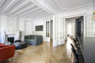 Louer appartement meublé style haussmannien avenue Kléber Paris 6