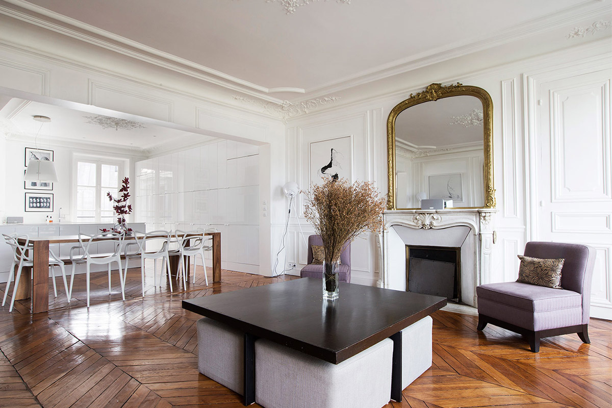 Living in a Haussmannian apartment