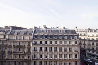 Louer appartement vue toits Paris - Avenue de l'Opéra