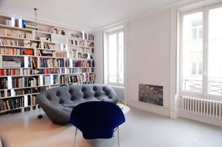 appartemet à louer Paris style contemporain