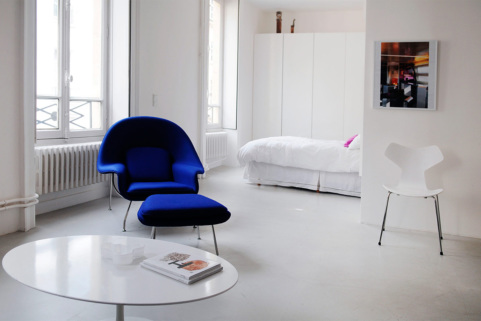 One-bedroom apartment in Paris 2nd