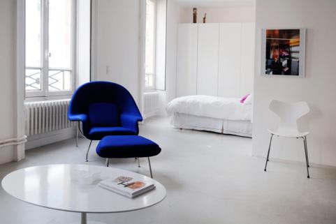 appartement une chambre à louer Paris 2