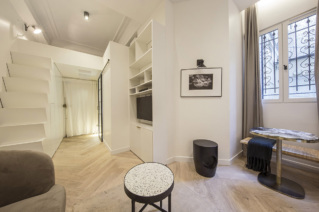 Furnished and renovated rental Paris 6