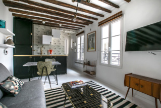 Paris furnished studio to rent