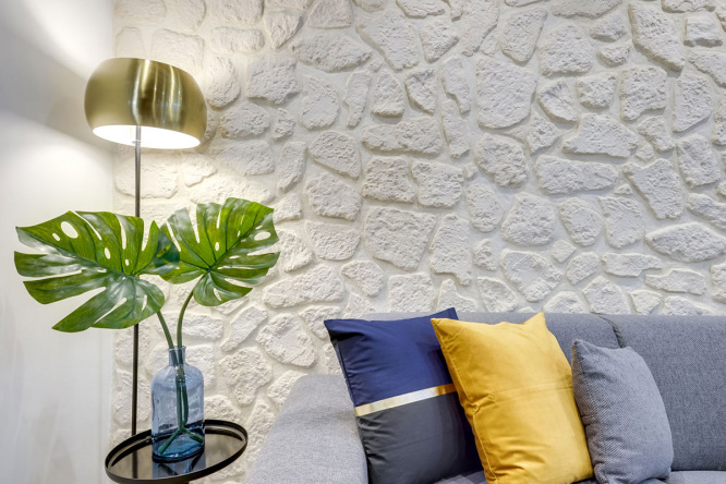 Interior design and plants