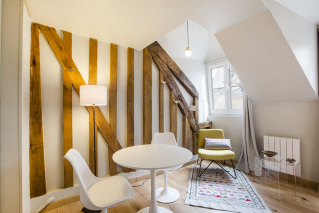 Lighting and atmosphere - rental apartment in Paris
