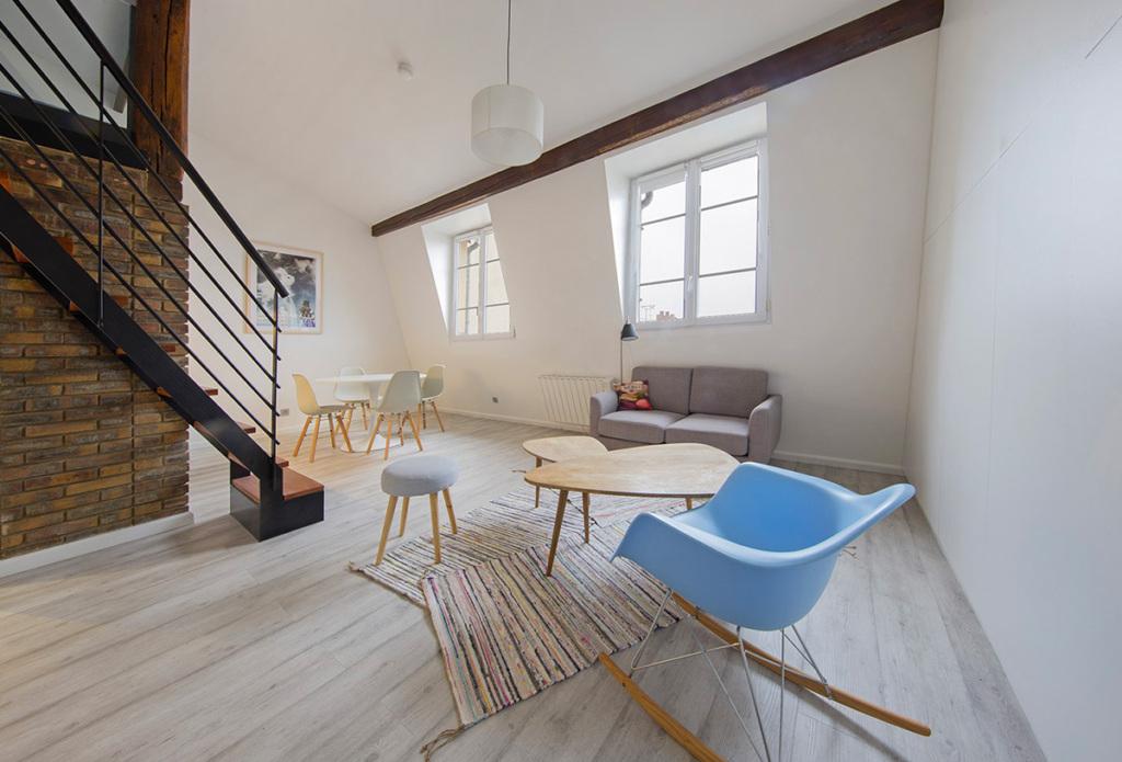 Studio meublé parfaitement équipé = rentrée étudiante sereine - Rendez-vous dans un appartement parisien