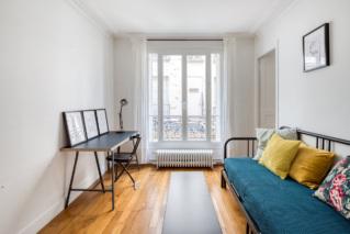 appartement salon bureau une chambre à louer Paris