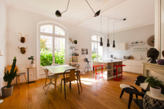 Télétravail appartement parisien spacieux