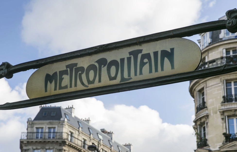 Paris Transport City Metro