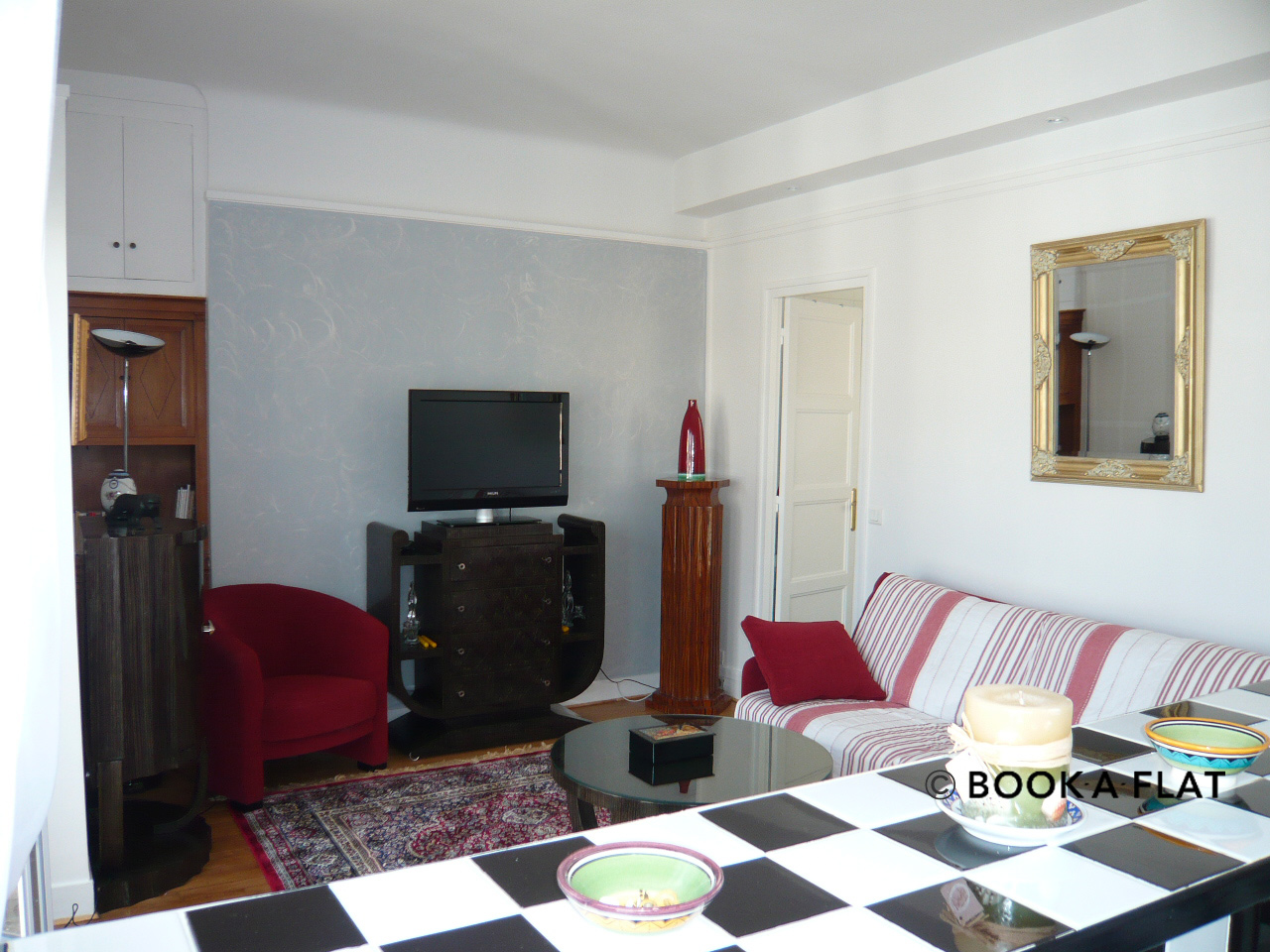 Apartment Paris Boulevard Murat 4