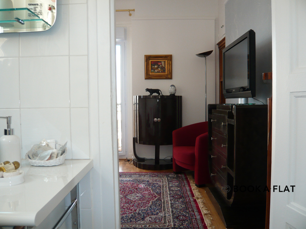 Apartment Paris Boulevard Murat 16
