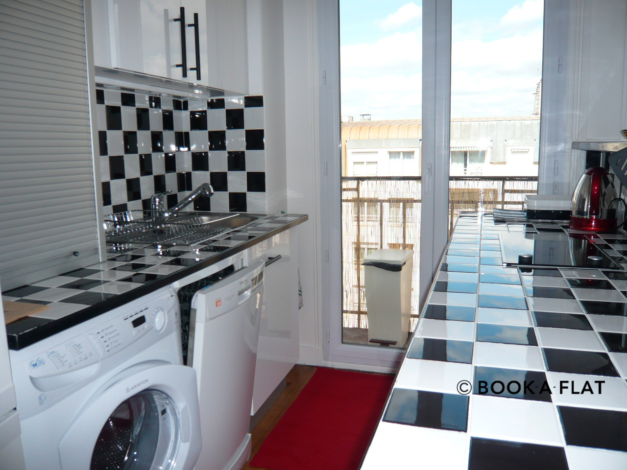 Apartment Paris Boulevard Murat 9