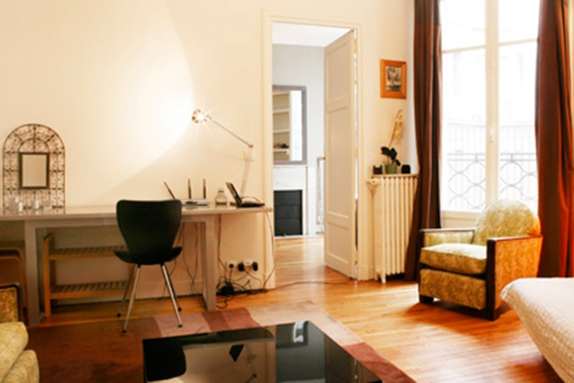 Furnished apartment for rent Paris Rue Raynouard